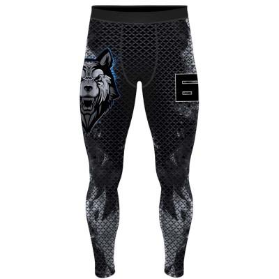 Компрессионные штаны 6F beast волк в наличии в магазине Сайд-Степ