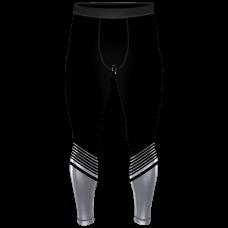 Компрессионные штаны 6F hightek белые