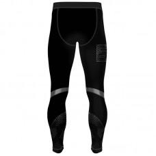 Компрессионные штаны 6F malmur черные
