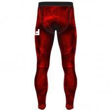 Компрессионные штаны 6F void красные