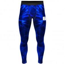 Компрессионные штаны 6F void синие