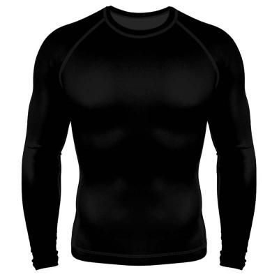 Рашгард 6F чёрный ls в наличии в магазине Сайд-Степ