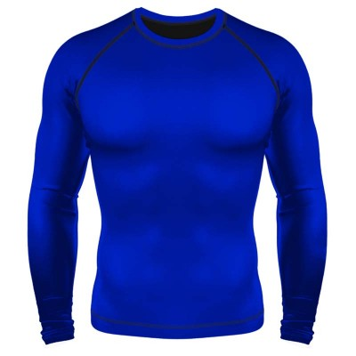 Рашгард 6F синий ls в наличии в магазине Сайд-Степ
