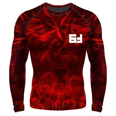 Рашгард 6F void красный ls в наличии в магазине Сайд-Степ