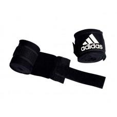 Боксерские бинты Adidas AIBA new rules эластичные черные 3.5 м