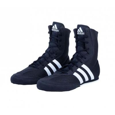 Боксерки Adidas box hog 2 черные - Сайд-Степ магазин спортивной экипировки