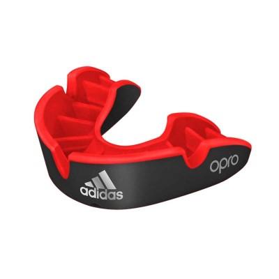 Боксерская капа Adidas opro silver gen4 self-fit черная в наличии в магазине Сайд-Степ