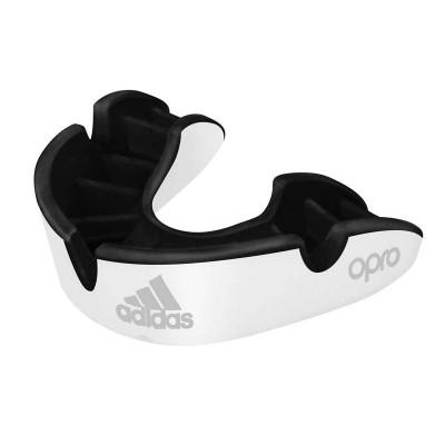 Боксерская капа Adidas opro silver gen4 self-fit белая в наличии в магазине Сайд-Степ