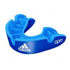 Боксерская капа Adidas opro silver gen4 self-fit синяя