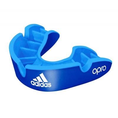 Боксерская капа Adidas opro silver gen4 self-fit синяя в наличии в магазине Сайд-Степ
