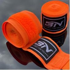 Боксерские бинты BN fight эластичные оранжевые 3 м
