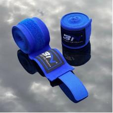 Боксерские бинты BN fight эластичные синие 5 м