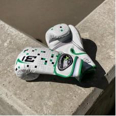 Боксерские перчатки BN fight tetris белые