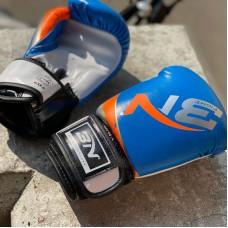 Детские боксерские перчатки BN fight синие