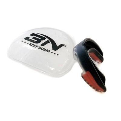 Детская боксерская капа BN fight черно-красная в наличии в магазине Сайд-Степ