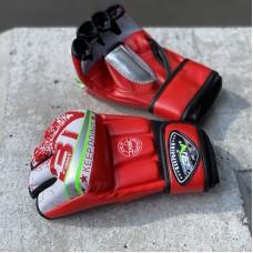 Перчатки ММА BN fight красные