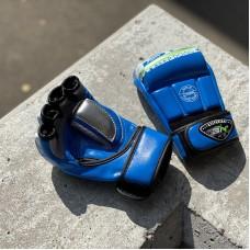 Перчатки ММА BN fight синие
