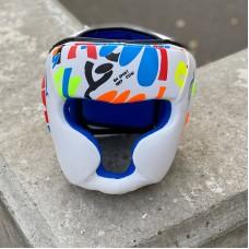 Детский боксерский шлем BN fight fancy белый
