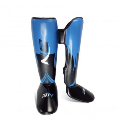 Защита ног BN fight черно-синяя в наличии в магазине Сайд-Степ