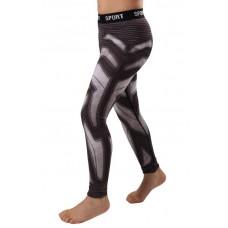 Детские компрессионные штаны Berserk iron black