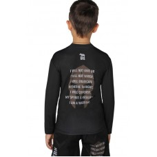 Детский рашгард Berserk sparta black
