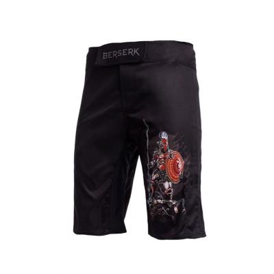 Шорты MMA Berserk sparta kids black - Сайд-Степ магазин спортивной экипировки