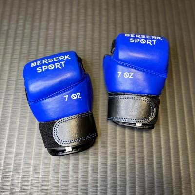 Перчатки Berserk pankration approved UWW синие 7 oz в наличии в магазине Сайд-Степ
