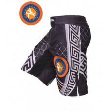 Шорты ММА Berserk pankration 3D approved UWW black