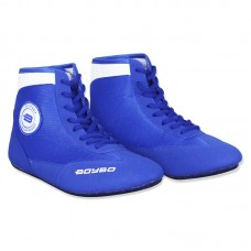 Детские борцовки BoyBo синие
