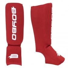 Детская защита ног BoyBo эластик красная