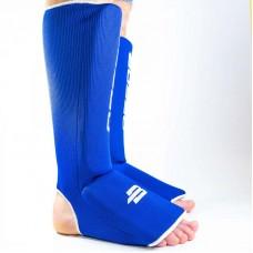 Детская защита ног BoyBo эластик синяя