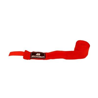 Боксерские бинты BoyBo х/б красные 3,5 м - Сайд-Степ магазин спортивной экипировки