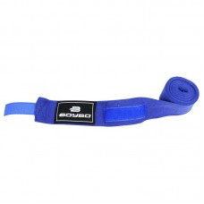 Боксерские бинты BoyBo эластичные синие 4.5 м