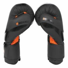 Боксерские перчатки Boybo b-series черно-оранжевые