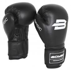 Детские боксерские перчатки BoyBo basic черные