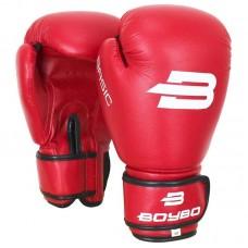 Боксерские перчатки BoyBo basic красные