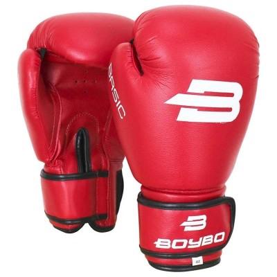 Боксерские перчатки Boybo basic красные в наличии в магазине Сайд-Степ