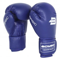 Боксерские перчатки BoyBo basic синие