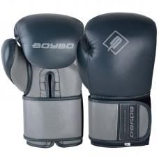Боксерские перчатки BoyBo existe металлик (кожа)