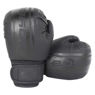 Боксерские перчатки Boybo stain черные в наличии в магазине Сайд-Степ