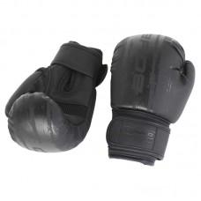 Детские боксерские перчатки BoyBo stain черные
