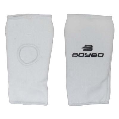 Накладки каратэ и тхэквондо BoyBo белые - Сайд-Степ магазин спортивной экипировки