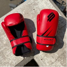 Перчатки для каратэ и тхэквондо BoyBo GTF/ITF красные