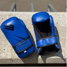 Перчатки для каратэ и тхэквондо BoyBo GTF/ITF синие