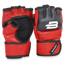 Перчатки ММА BoyBo inrage красные