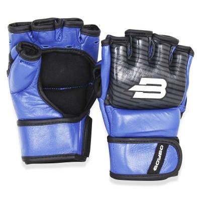 Перчатки ММА BoyBo inrage синие в наличии в магазине Сайд-Степ
