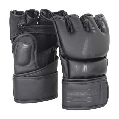Перчатки ММА BoyBo stain черные в наличии в магазине Сайд-Степ