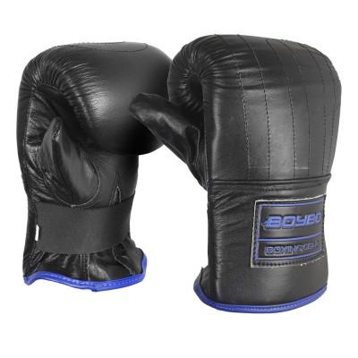 Перчатки снарядные Boybo rage черно-синие (кожа) в наличии в магазине Сайд-Степ