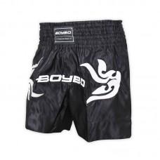 Шорты для тайского бокса BoyBo черные