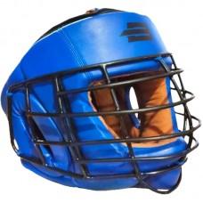 Шлем с металлической решеткой Boybo синий